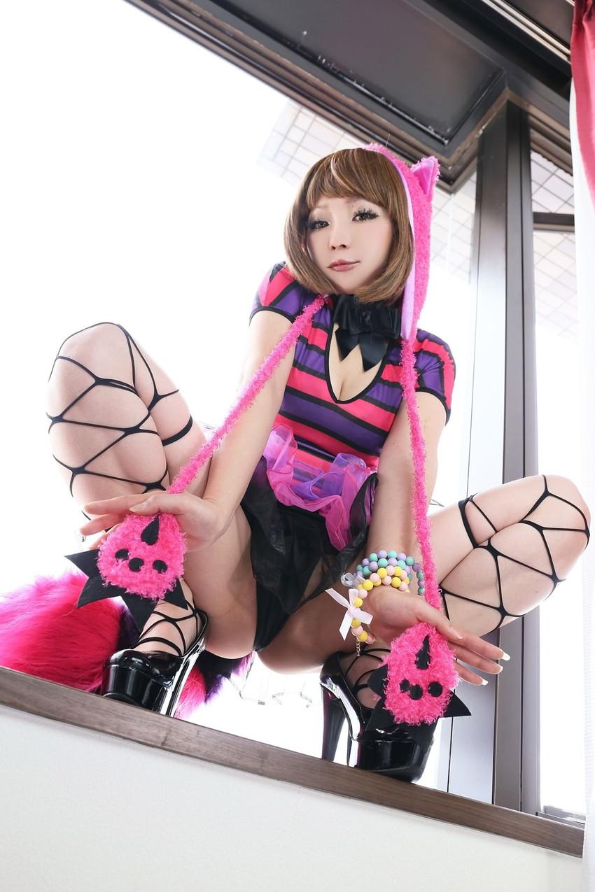 【コスプレエロ画像】小悪魔的な魅力もたっぷりエロッエロなコスプレ衣装の日暮らん! 13