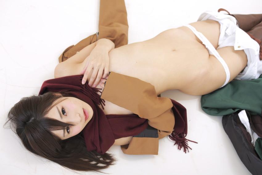【コスプレエロ画像】着エロもこなす過激なコスプレイヤー逢坂愛の過激コス! 52