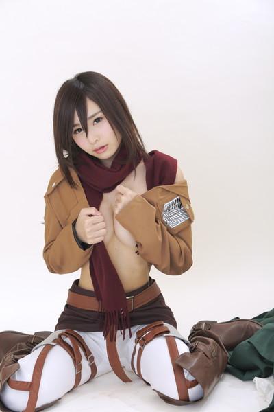 【コスプレエロ画像】着エロもこなす過激なコスプレイヤー逢坂愛の過激コス! 49