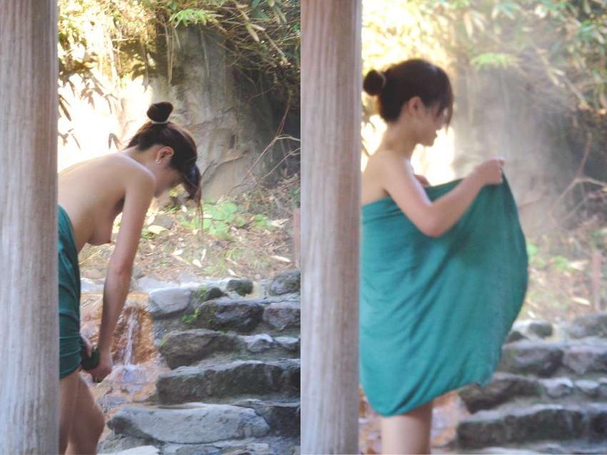 【女風呂エロ画像】成人した今となっては未知の領域!女風呂盗撮! 09