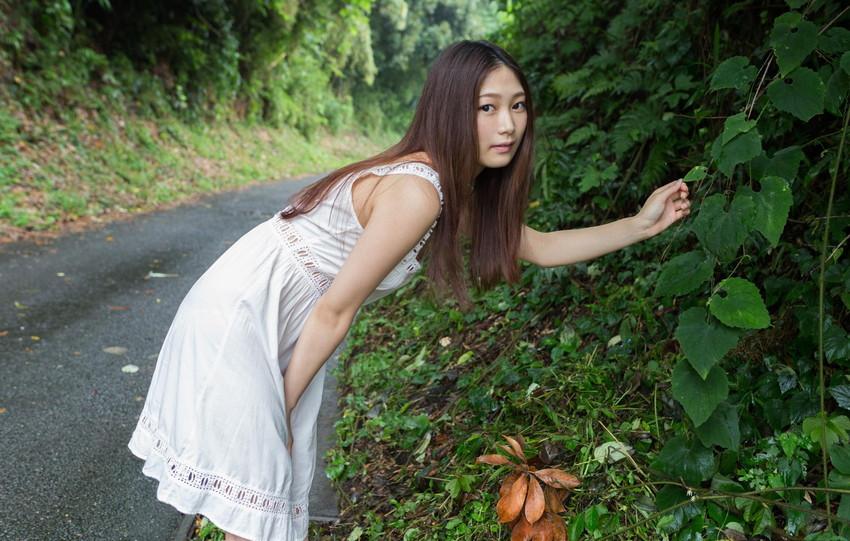 【AV女優エロ画像】OLでありながらAV女優という変わったスタイルのAV女優 16