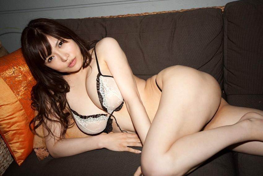 【沖田杏梨エロ画像】なんだこのけしからんおっぱい!Lカップ爆乳のAV女優! 18