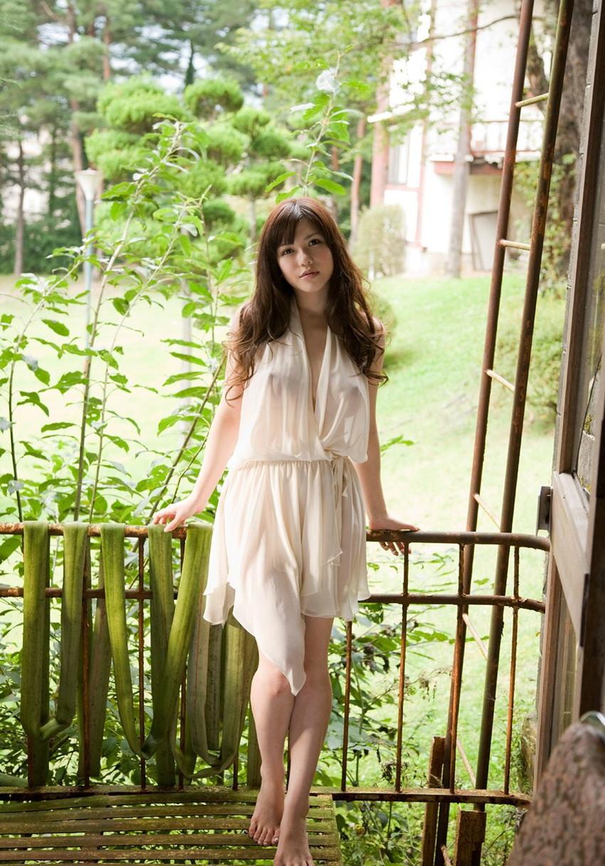 【沖田杏梨エロ画像】なんだこのけしからんおっぱい!Lカップ爆乳のAV女優! 21