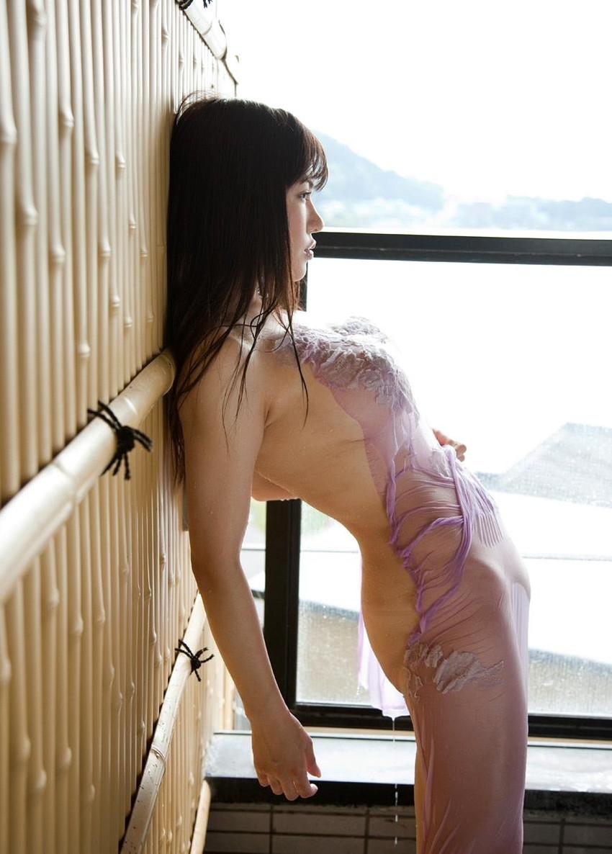 【沖田杏梨エロ画像】なんだこのけしからんおっぱい!Lカップ爆乳のAV女優! 34
