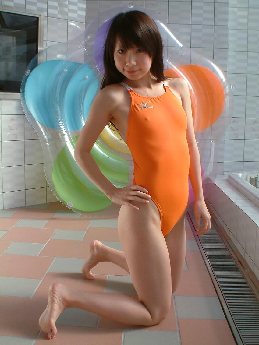 【競泳水着エロ画像】なんでこんなにエロいんだ!?競泳水着ってそういうものか!?w 44