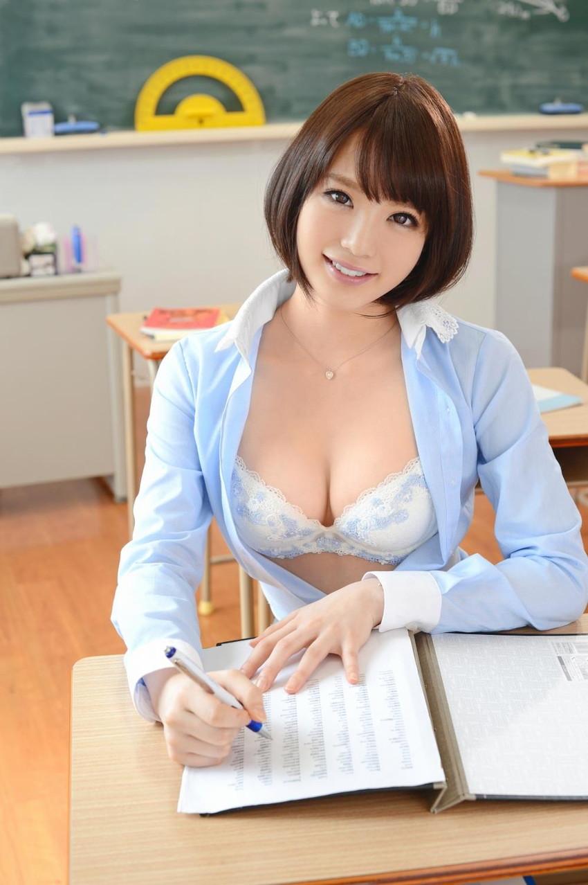 【女教師エロ画像】エッチな先生に夜の教育的指導を受けたいw(51枚) 11