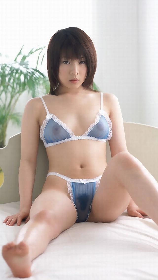 【シースルーエロ画像】美女のスケスケ下着姿がフル勃起確実なエロさw(50枚) 21