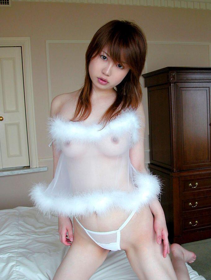 【シースルーエロ画像】美女のスケスケ下着姿がフル勃起確実なエロさw(50枚) 27