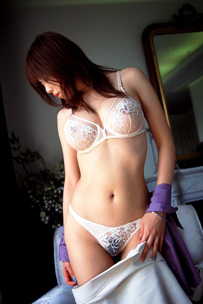 【シースルーエロ画像】美女のスケスケ下着姿がフル勃起確実なエロさw(50枚) 38