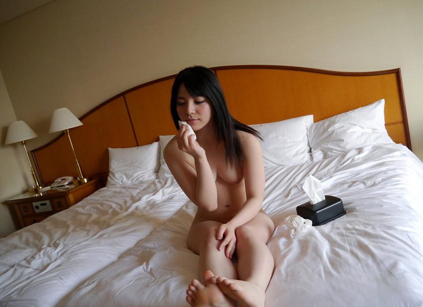 【SEX後エロ画像】セックス終了後の美女たちがエロすぎて2回戦に挑みたくなるw(52枚) 42