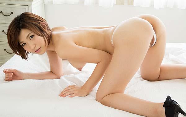 【ヌードエロ画像】ショートヘアが似合う夏希みなみのエロ画像(55枚) 37