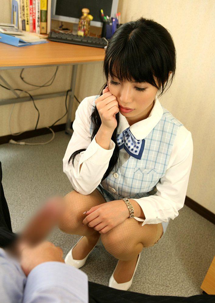 【OLエロ画像】会社でエロいことヤってる美女がけしからんwwwww(55枚) 51