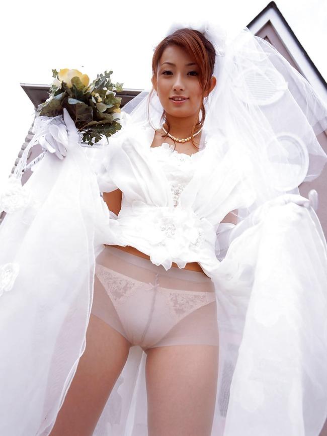 【花嫁エロ画像】美女の乱れたウェディングドレス姿が激エロw(53枚) 04
