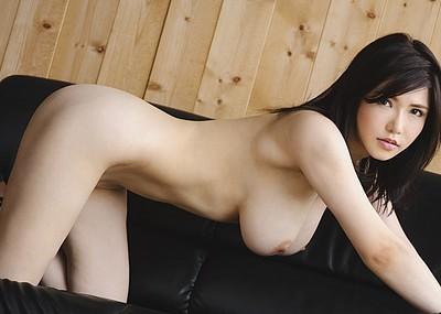 【爆乳エロ画像】沖田杏梨のLカップ爆乳ヌードで股間が爆発しそうw(54枚)