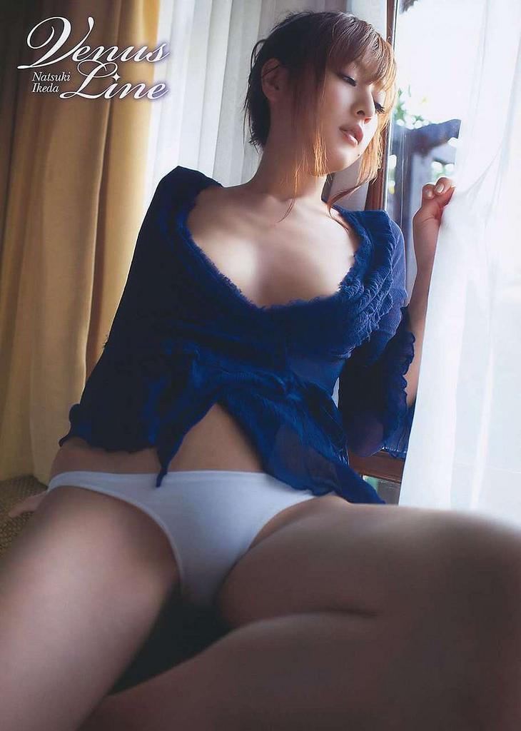 【グラビアエロ画像】口元のほくろにホレボレする池田夏希のセクシーボディw(50枚) 21