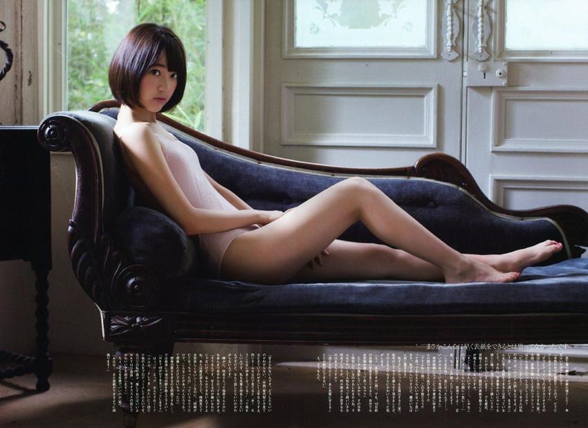 【グラビアエロ画像】HKT宮脇咲良のセクシー水着姿がエロ可愛いwwww(54枚) 02