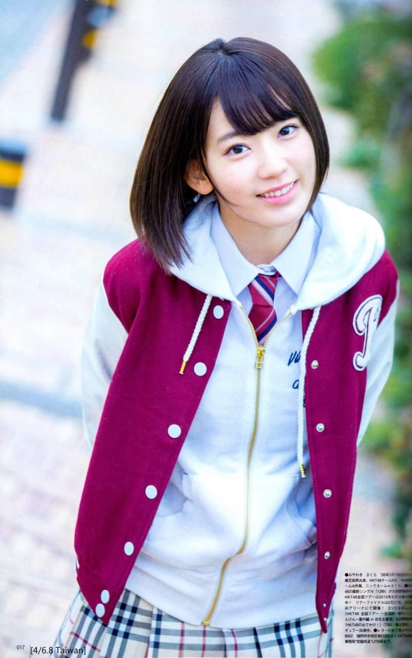 【グラビアエロ画像】HKT宮脇咲良のセクシー水着姿がエロ可愛いwwww(54枚) 04