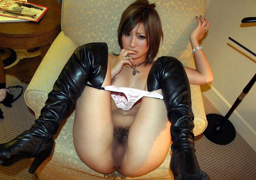 【ブーツエロ画像】美女のブーツ履き姿エロ杉抜いたwwwwww(50枚) 30
