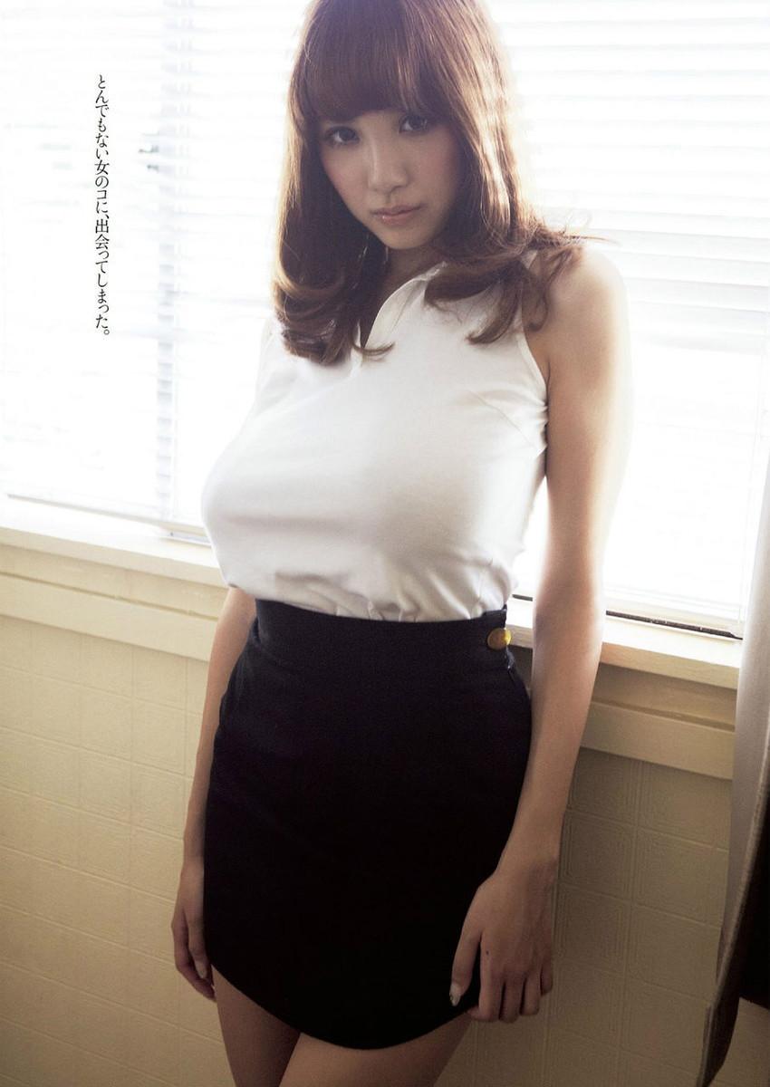 【神乳エロ画像】Jカップ美巨乳が見応えありすぎ!RIONの神乳エロ画像!(50枚) 36