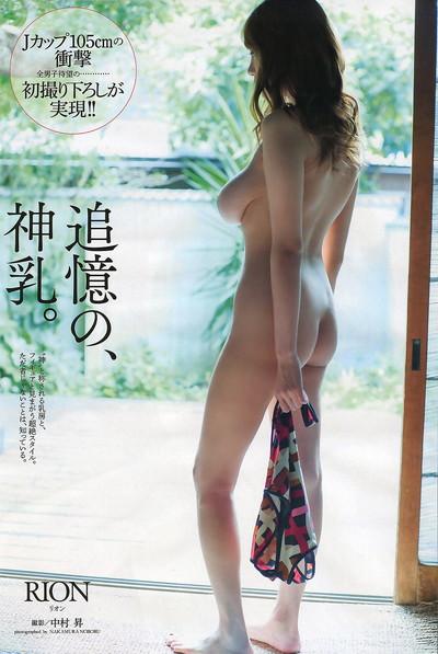 【神乳エロ画像】Jカップ美巨乳が見応えありすぎ!RIONの神乳エロ画像!(50枚) 41