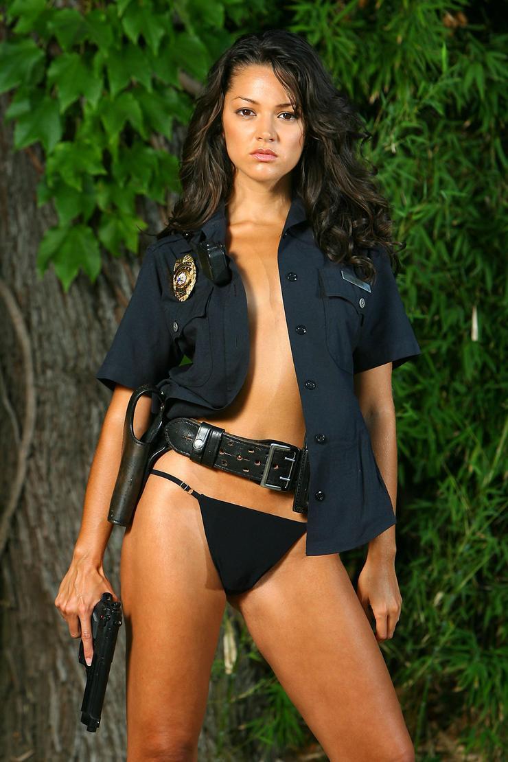 【コスプレエロ画像】美女の女性警察官姿が捕まりたくなるほどエロいw(52枚) 07