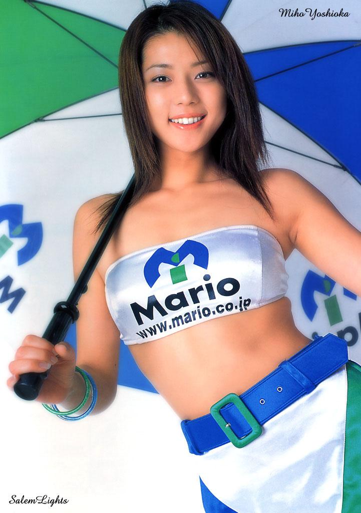 【グラビアエロ画像】吉岡美穂の懐かしきセクシー姿はいつ見てもメチャシコw(50枚) 40