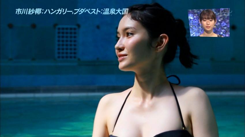 【グラビアエロ画像】市川紗椰の上品なセクシー姿!隠れ巨乳で有名です!(50枚) 05