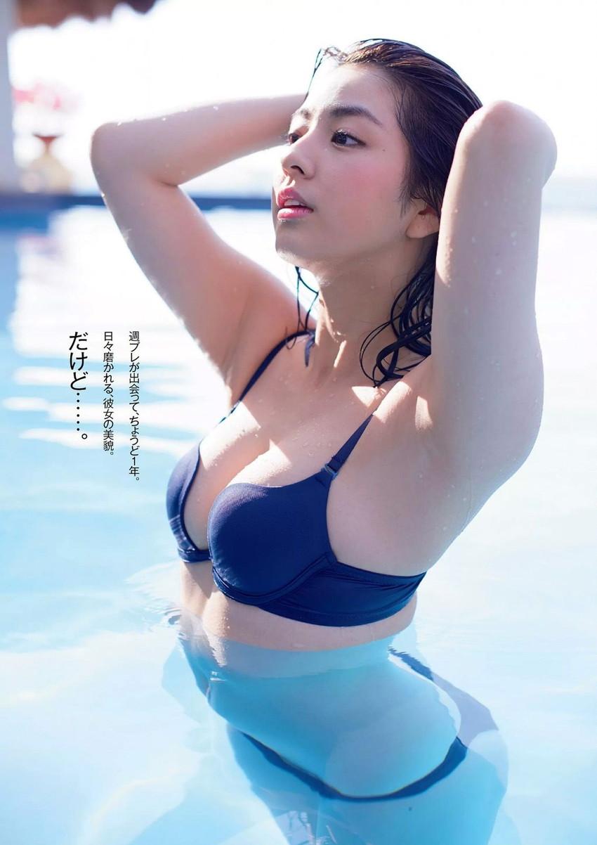 【グラビアエロ画像】ビキニの女神降臨!柳ゆり菜のセクシー画像!(54枚) 14