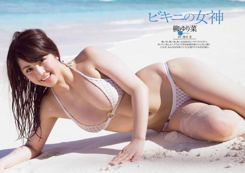 【グラビアエロ画像】ビキニの女神降臨!柳ゆり菜のセクシー画像!(54枚) 43