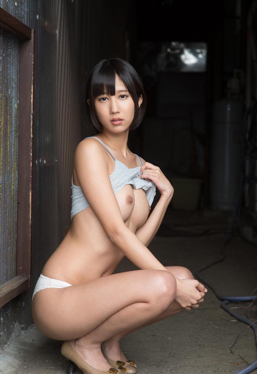 【ヌードエロ画像】輝くAV女優!湊莉久のエロキュートなセックス画像!(52枚) 10