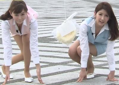 【放送事故画像】テレビに出てる女の子の脚ってなんでこんなにきれいでエロいんだ?w