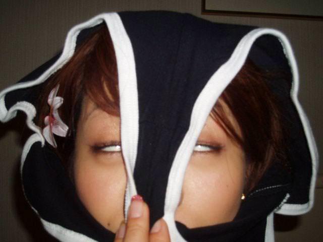 【素人エロ画像】気分はエクスタシー!!パンツを被った娘たちがHENTAIすぎるw(50枚) 33