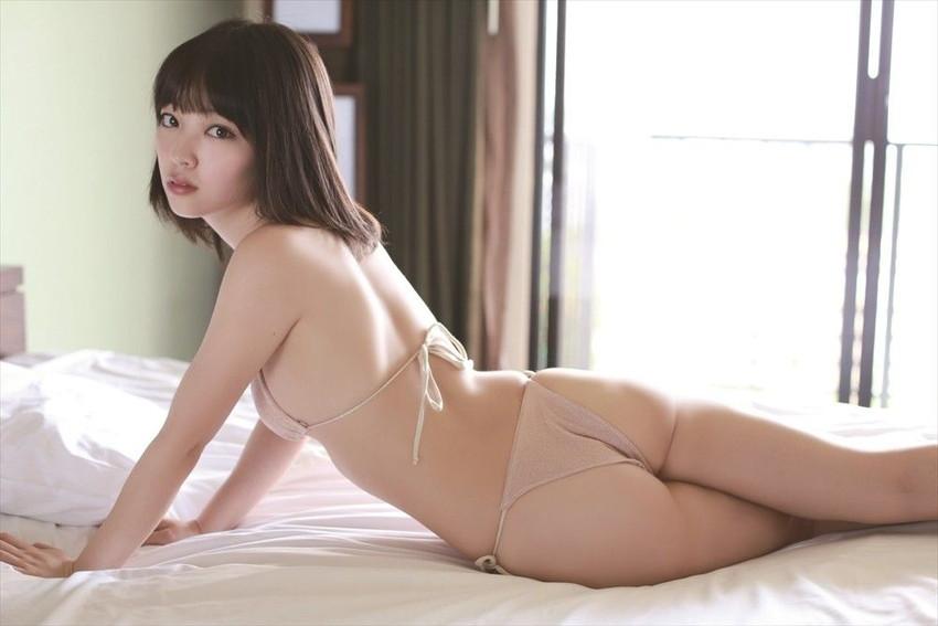 【グラビアエロ画像】ピンクが好きな安藤遥のセミヌード・水着画像!(50枚) 36