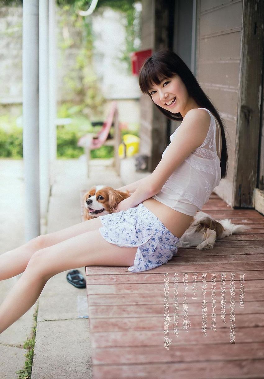 【グラビアエロ画像】可愛すぎる新川優愛のセクシー画像!(50枚) 45