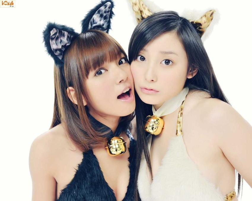 【獣耳エロ画像】ケモ耳つけた女の子たちがエロ可愛いwwwww(51枚) 50