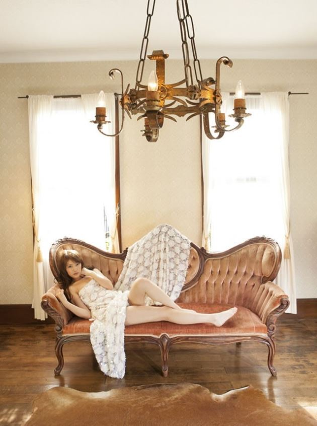 【グラビアエロ画像】華子の水着・セミヌード姿がエロ美しいwwww(50枚) 47