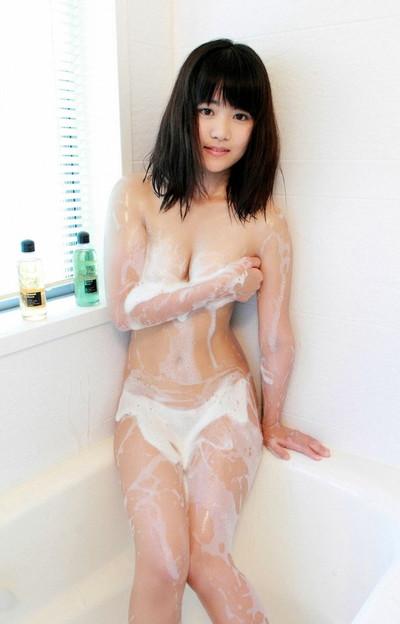 【泡まみれエロ画像】美女のメチャシコな泡ボディをご覧くださいww(50枚) 17