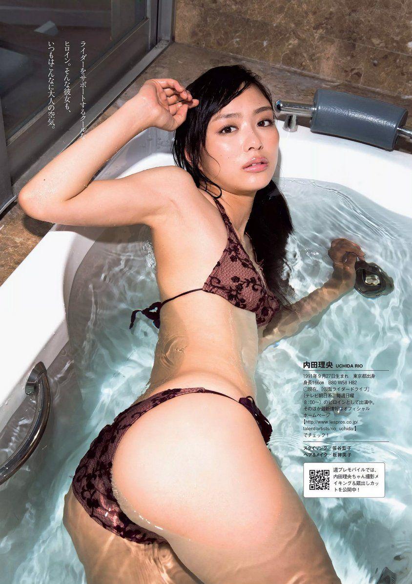 【内田理央エロ画像】肩や腰を揉みたくなる水着・下着・セミヌード姿!(50枚) 30