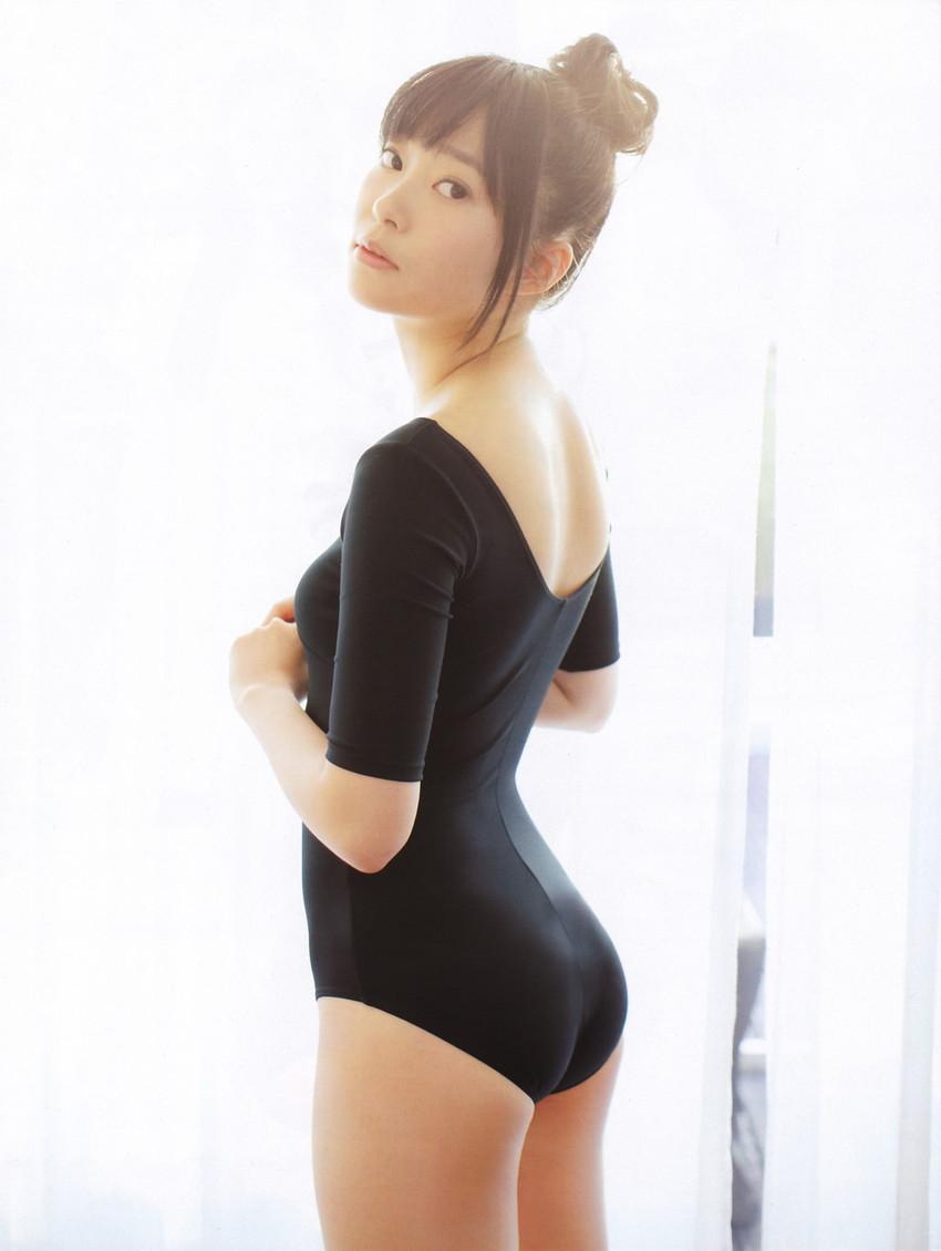 【レオタードエロ画像】身体のラインがくっきり出ているムチムチのスケベなレオタード画像! 34
