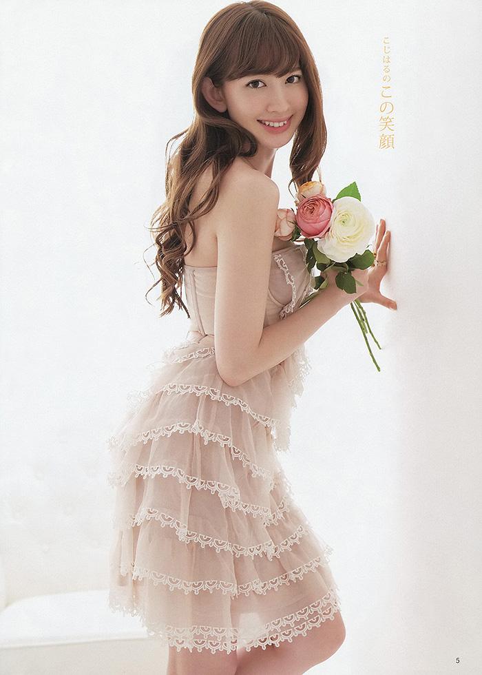 【グラビアエロ画像】AKB48のこじはるのビキニや下着のスケベ画像集めました! 34