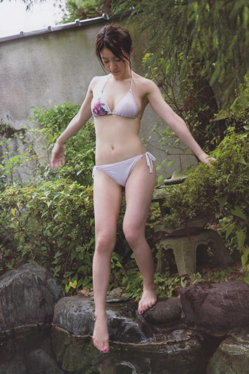 【グラビアエロ画像】大島優子の水着グラビア中心にまとめてみました!ムチムチのおっぱいがそそるw 08