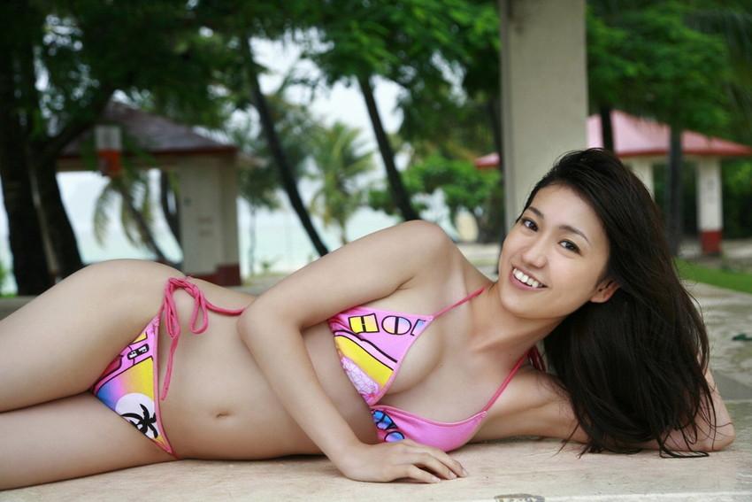 【グラビアエロ画像】大島優子の水着グラビア中心にまとめてみました!ムチムチのおっぱいがそそるw 19