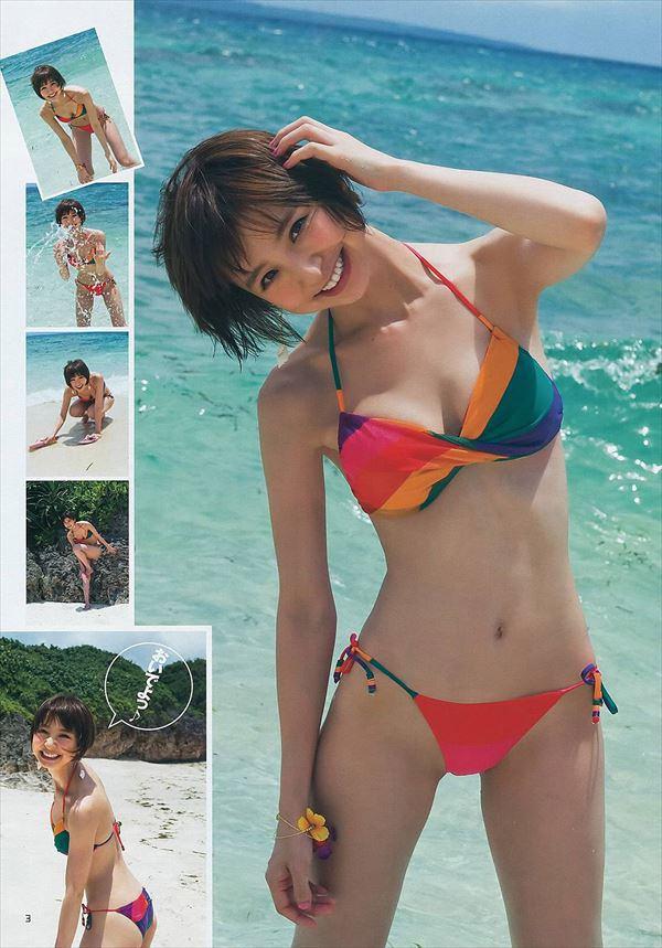 【グラビアエロ画像】篠田麻里子のセクシーグラビア!スレンダーなボディラインにムラムラw 45