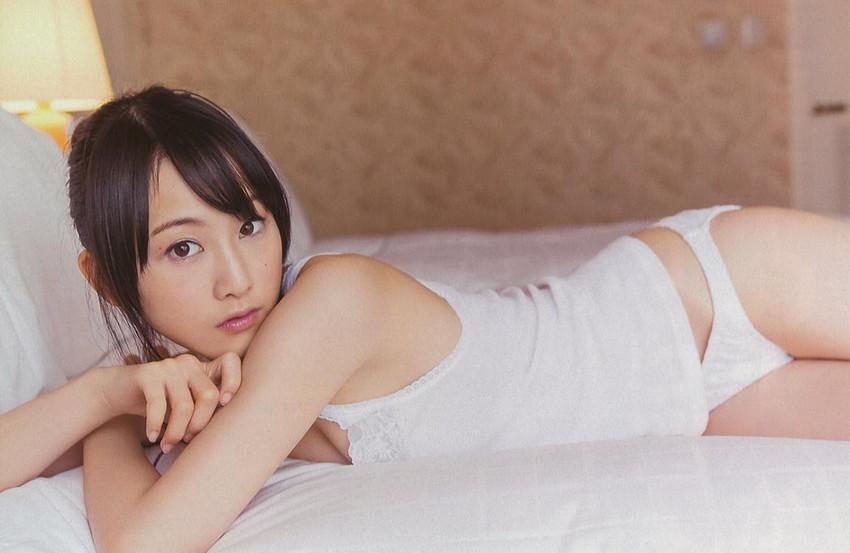 【グラビアエロ画像】SKEの松井玲奈ちゃんの清楚すぎるグラビア!水着や下着など色々あります 18