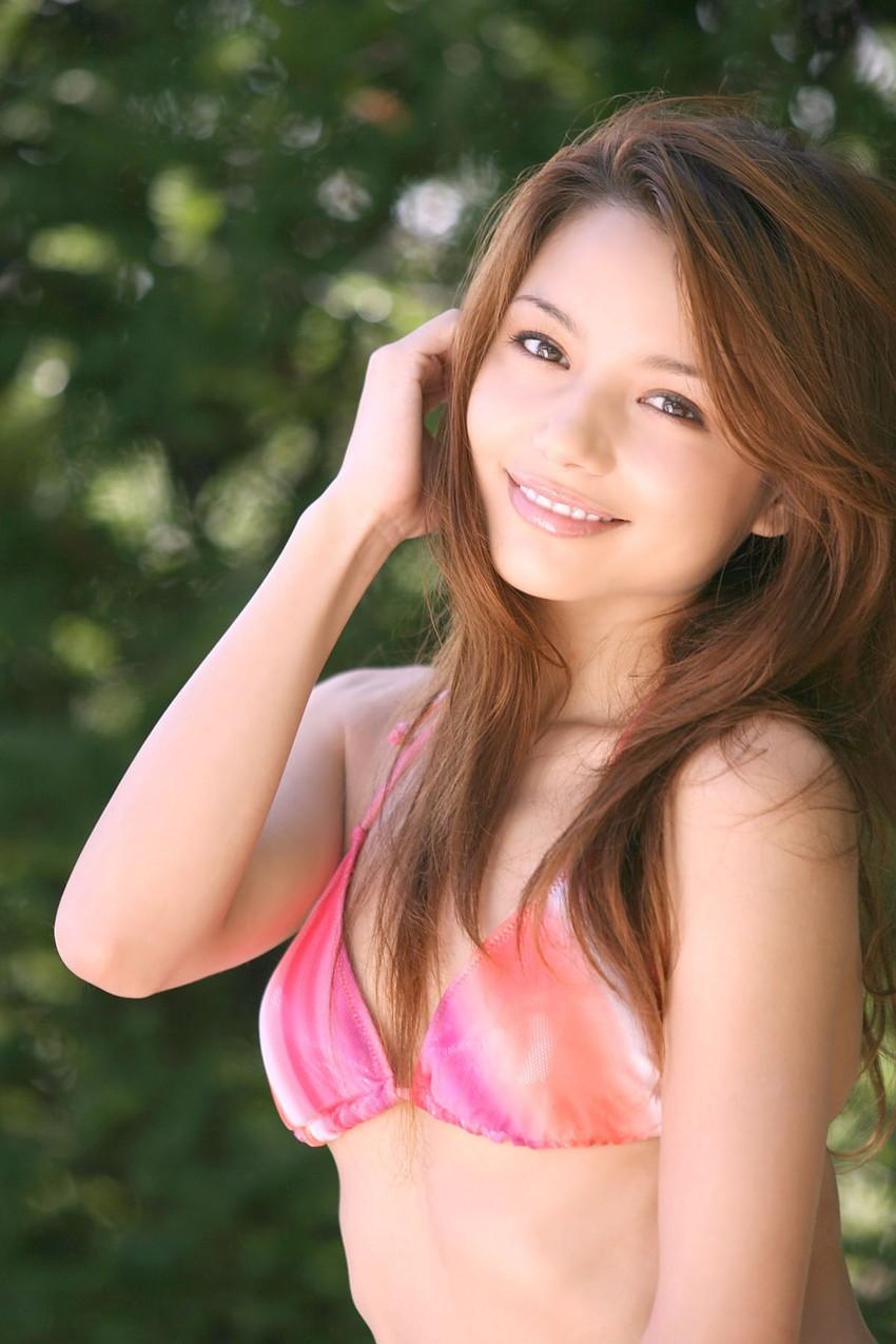 【ヌードエロ画像】ハーフ美人のRioちゃんのスケベヌードグラビア!エッチでスレンダーな身体に注目! 48