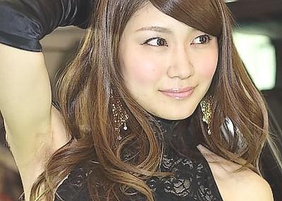 美女揃い大阪オートメッセ2016でパ○ティ晒す痴女コンパニオンをご覧くださいwww