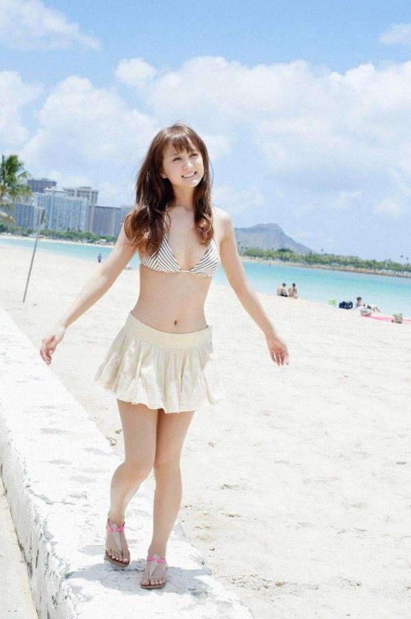 【グラビアエロ画像】岩手の色白美人、小松彩夏のDカップ過激グラビア! 39