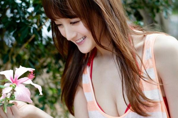 【グラビアエロ画像】岩手の色白美人、小松彩夏のDカップ過激グラビア! 49