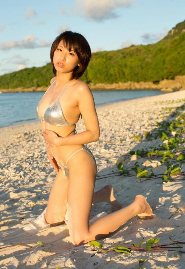 【ヌードエロ画像】若妻感がたまらない!秋山祥子のグラマーでエッチな身体をご堪能くださいw 24
