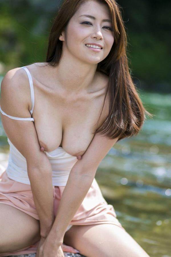 【美熟女エロ画像】北条麻妃さんと不倫旅行している気分になれるヌード画像あつめてみたよwww 06